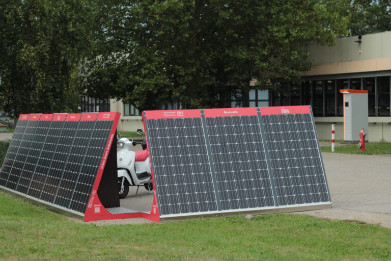 Energy Hub auf dem Gelände der Hochschule Bochum